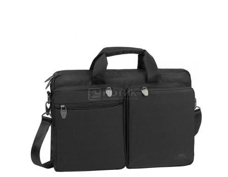 """Фотография товара сумка 16"""" RivaCase 8530 black, Полиэстер, Черный (55995)"""