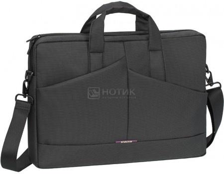 """Фотография товара сумка 15,6"""" RivaCase 8731 grey, Полиэстер, Серый (55999)"""