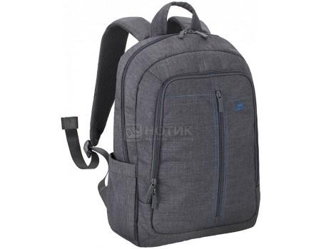"""Фотография товара рюкзак 15,6"""" RivaCase 7560 grey, Полиэстер, Серый (56001)"""