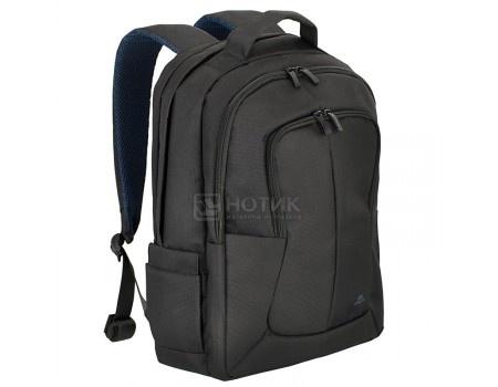 """Фотография товара рюкзак 17,3"""" RivaCase 8460 black, Полиэстер, Черный (56003)"""