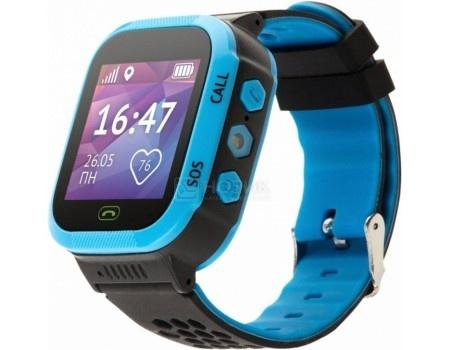 Фотография товара детские часы Кнопка Жизни Aimoto Start, 400 мАч, GPS, Синий 9900102 (56045)