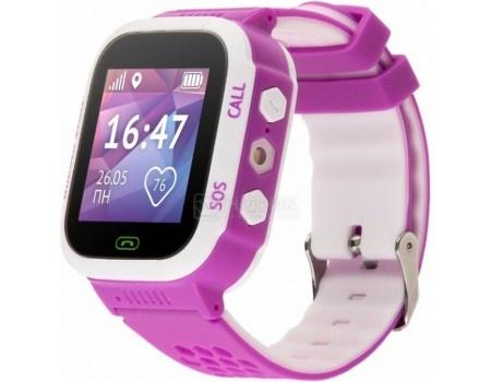 Детские часы Кнопка Жизни Aimoto Start, 400 мАч, GPS, Розовый 9900101, арт: 56046 - Knopka Zhizni