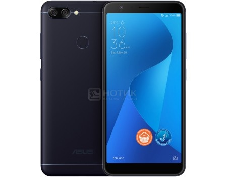 Смартфон ASUS Zenfone Max M1 Plus ZB570TL 32Gb Ram 3Gb (Android 7.0 (Nougat)/MT6750T 1500MHz/5.7