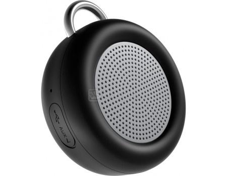 Портативная колонка Deppa Speaker Active Solo , Bluetooth, 5Вт, 500 мАч, Черный 42000