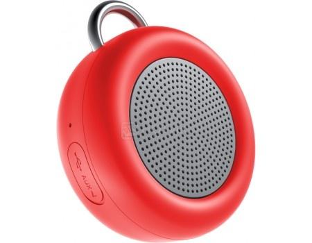 Портативная колонка Deppa Speaker Active Solo , Bluetooth, 5Вт, 500 мАч, Красный 42002, арт: 56079 - Deppa