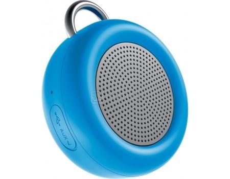 Портативная колонка Deppa Speaker Active Solo , Bluetooth, 5Вт, 500 мАч, Синий 42003