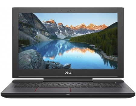 Фотография товара ноутбук Dell Inspiron 7577 (15.6 IPS (LED)/ Core i5 7300HQ 2500MHz/ 8192Mb/ SSD / NVIDIA GeForce® GTX 1060 в дизайне MAX-Q 6144Mb) Linux OS [7577-9584] (56102)