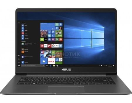 Фотография товара ультрабук ASUS Zenbook UX530UQ-FY017R (15.6 IPS (LED)/ Core i5 7200U 2500MHz/ 8192Mb/ SSD / NVIDIA GeForce GT 940MX 2048Mb) MS Windows 10 Professional (64-bit) [90NB0EG1-M01440] (56107)