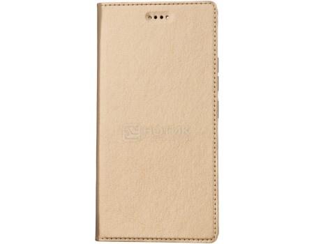 Чехол-книжка Vili для смартфона ASUS ZenFone 3 Max ZC520TL, Искусственная кожа, Золотистый A0307-105289 от Нотик