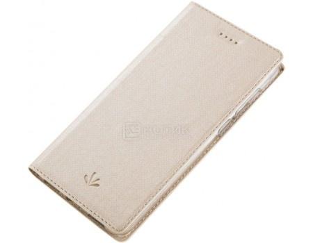 Фотография товара чехол-книжка Vili для смартфона ASUS Zenfone 4 Max ZC520KL, Искусственная кожа, Золотистый A0307-105628 (56137)