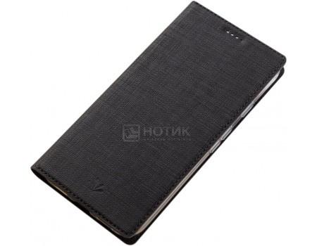 Фотография товара чехол-книжка Vili для смартфона ASUS Zenfone 4 Max ZC520KL, Искусственная кожа, Черный A0307-105629 (56138)