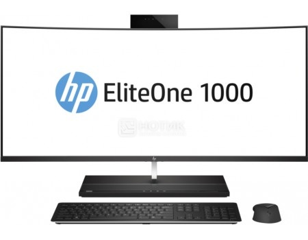 Моноблок HP EliteOne 1000 G1 Curved (34.0 IPS (LED)/ Core i7 7700 3600MHz/ 8192Mb/ SSD / Intel HD Graphics 630 64Mb) MS Windows 10 Professional (64-bit) [2LU09EA], арт: 56168 - HP