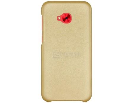 Фотография товара чехол-накладка G-Case Slim Premium для смартфона ASUS ZenFone 4 Selfie Pro ZD552KL, Искусственная кожа, Золотистый GG-878 (56173)