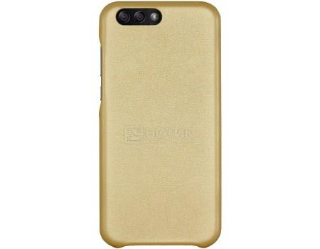 Фотография товара чехол-накладка G-Case Slim Premium для смартфона ASUS ZenFone 4 ZE554KL, Искусственная кожа, Золотистый GG-882 (56177)