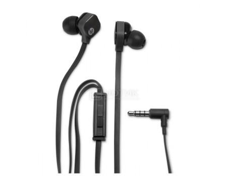 Фотография товара гарнитура проводная HP In-Ear Headset H2310, Черный 1.5м J8H42AA (56203)