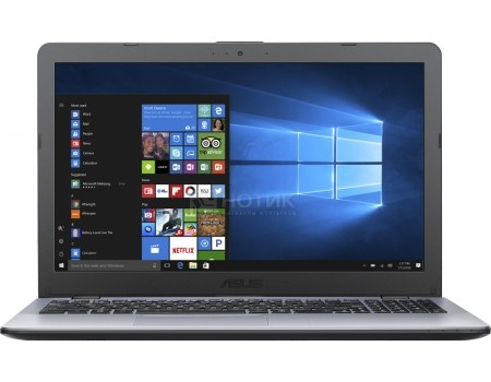 Ноутбук ASUS VivoBook 15 A542UA-DM314T (15.6 TN (LED)/ Core i5 7200U 2500MHz/ 8192Mb/ HDD 1000Gb/ Intel HD Graphics 620 64Mb) MS Windows 10 Home (64-bit) [90NB0F22-M03810]