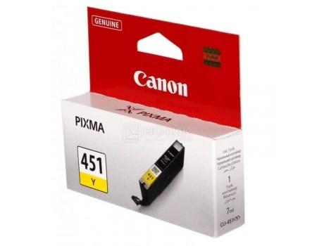 Картридж Canon CLI-451Y для MG6340 MG5440 IP7240 344с Желтый 6526B001