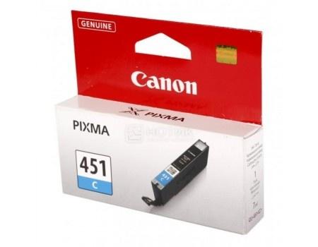 Картинка для Картридж Canon CLI-451C для MG6340 MG5440 IP7240 332с Голубой 6524B001