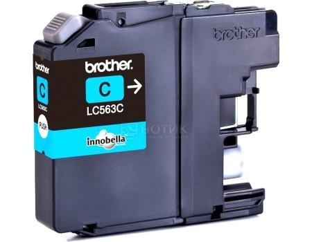 Картридж Brother LC-663C для MFCJ2320 2720 600стр, Голубой LC663C