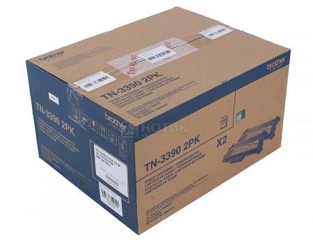 Картридж Brother TN-3390 2шт для HL-6180DW DCP-8250DN MFC-8950DW 12000стр, Черный TN3390TWIN