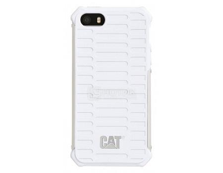 Чехол-накладка CAT Active Urban для iPhone 5/5S/SE, Пластик, Белый CUCA-WHSI-I5S-0A3 от Нотик
