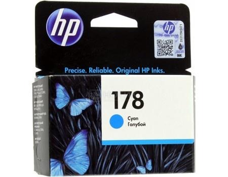 Картридж HP 178 для PhotoSmart 5510 5515 5383 5583 6510 7510 Голубой CB318HE, арт: 56683 - HP