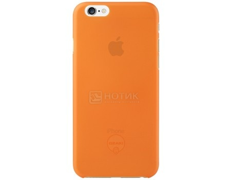 Чехол-накладка для iPhone 6/iPhone 6s Ozaki O!coat 0.3 Jelly OC555OG, Пластик, Оранжевый