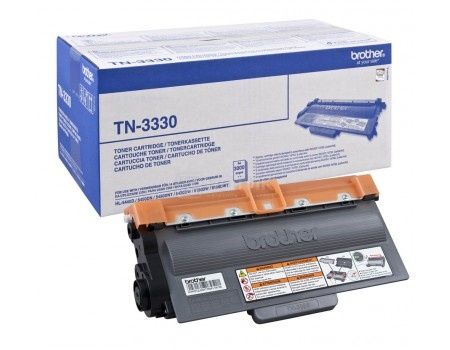 Картридж Brother TN-3330 для HL5440D 5450DN 5470DW 6180DW DCP8110 8250 MFC8520 8950 3000стр, Черный