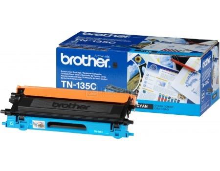 Картридж Brother TN-135C для HL4040CN 4050CDN DCP9040СN MFC9440СN 4000с голубой TN135C