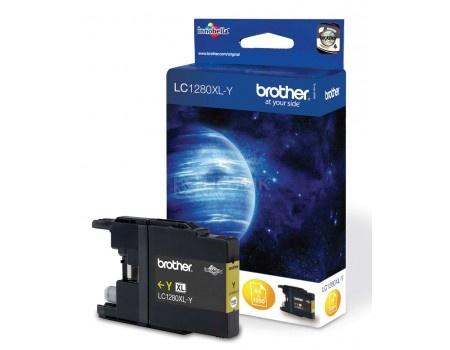 Картридж Brother LC-1280XLY для MFC-J5910 6510 6910 1200с желтый LC1280XLY