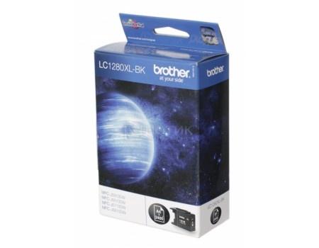 Картридж Brother LC-1280XLBK для MFCJ5910 6510 6910 2400с черный LC1280XLBK