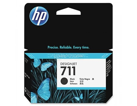 Картридж HP 711 для HP Designjet T120/T520 ePrinter series 38 мл черный CZ129A, арт: 56741 - HP