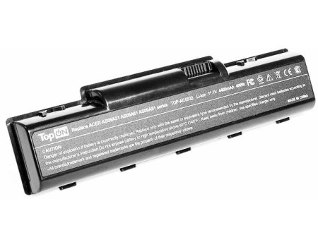 Аккумулятор TopON TOP-AC5532 11.1V 4400mAh PN: AS09A31 AS09A41 AS09A51 TOP-AC5532