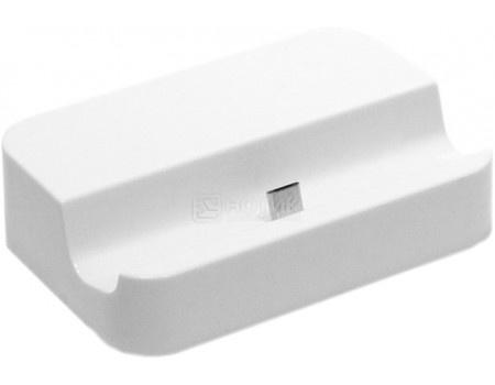 Фотография товара док-станция IQfuture для смартфонов Samsung с разъемом microUSB IQ-SDS01/W, Белый (56773)