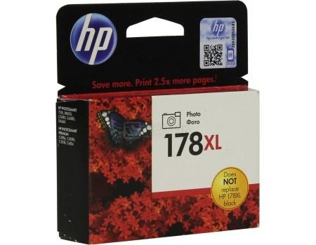 Картридж HP 178XL для PhotoSmart C5383 C6383 B8553 D5463 черный CB322HE