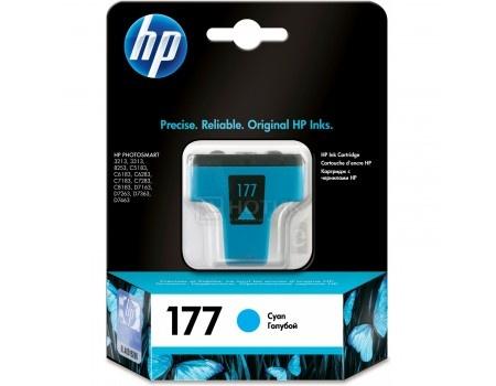 Картридж HP 177 для Photosmart 3213 3313 8253, Голубой C8771HE, арт: 56787 - HP