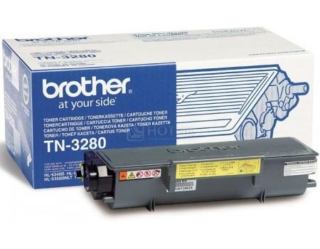 Картридж Brother TN-3280 для HL-5340D HL-5350DN HL-5370DW DCP-8070D DCP-8085DN MFC-8370DN MFC-8880DN 8000стр, Черный