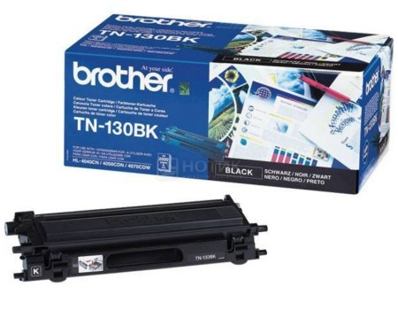 Картридж Brother TN-130BK для HL4040CN 4050CDN DCP9040СN MFC9440СN 2500с чёрный TN130BK, арт: 56795 - Brother