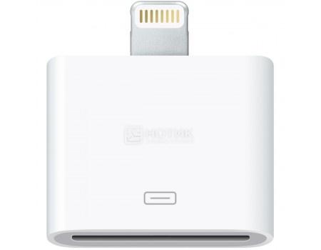 Фотография товара переходник для Apple IQFuture IQ-DC01 Lightning port to 30-pin Белый (56804)