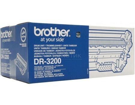 Фотобарабан Brother DR-3200 для HL53хх series DCP8070D 8085DN MFC8370DN 8880DN 25000стр, Черный DR3200