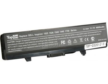 Аккумулятор TopON TOP-1525 DELL Inspiron 1440, 1525, 1526, 1545, 1546, 1750 Series, Vostro 500 Series 11.1V 4400 mAh. PN: GP952