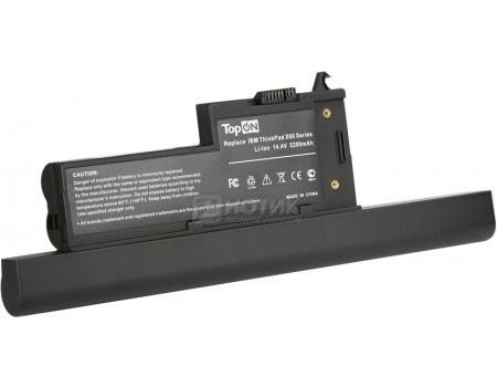 Аккумулятор TopON TOP-X60H 14.8V 5200mAh для Lenovo PN: ASM 40Y6999 40Y7001 FRU 92P1163 92P1165 92P1167 92P1169 92P1170 92P1227