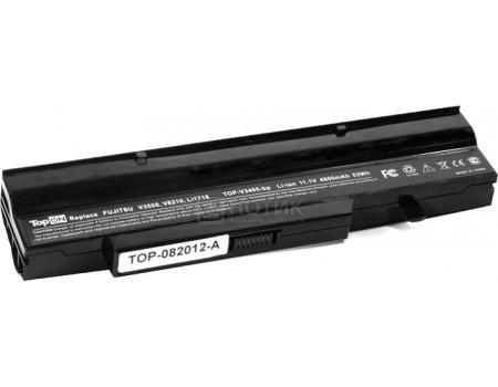 Аккумулятор TopON TOP-V3405 11.1V 4800mAh для Fujitsu-Siemens PN: BTP-B4K8 BTP-B7K8 BTP-B8K8 BTP-BAK8