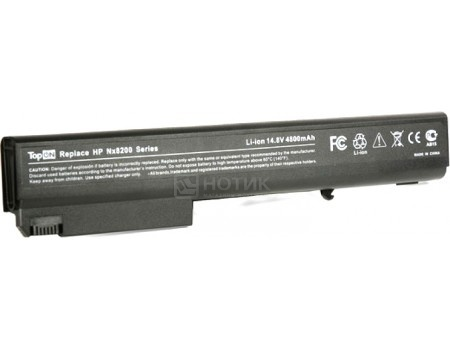 Аккумулятор TopON TOP-NX8220 14.8V 4800mAh для HP PN: PB992A HSTNN-UB11 HSTNN-OB06 HSTNN-LB11, арт: 56975 - TopON