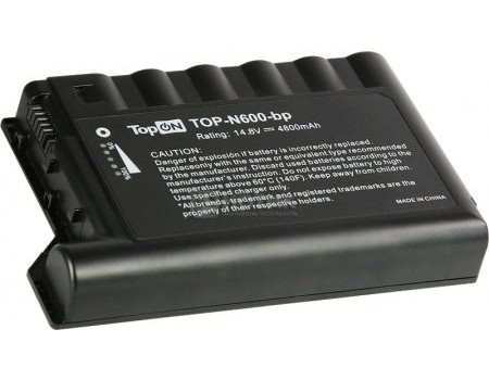 Аккумулятор TopON TOP-N600 14,8V 4800mAh для HP PN: 229783-001 232633-001 250848-B25, арт: 56976 - TopON