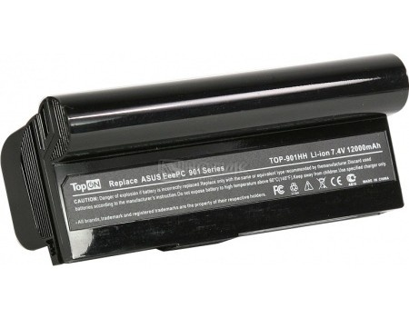 Аккумулятор TopON TOP-901H / AL23-901 7,4V 6600mAh для Asus PN: EeePC AL23-901 AP23-901, арт: 56984 - TopON
