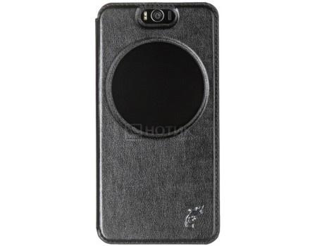Фотография товара чехол-книжка G-Case Slim Premium для смартфона ASUS ZenFone 4 Selfie ZD553KL, Искусственная кожа, Черный GG-900 (57008)