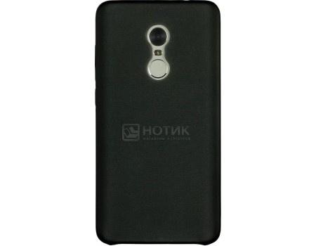 Чехол-накладка G-Case Slim Premium для смартфона Xiaomi Redmi Note 4, Искусственная кожа, Черный GG-836 от Нотик