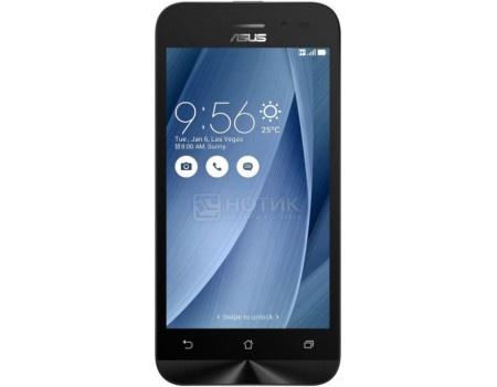Смартфон Asus Zenfone Go ZB452KG Silver Blue (Android 5.1/MSM8212 1200MHz/4.5