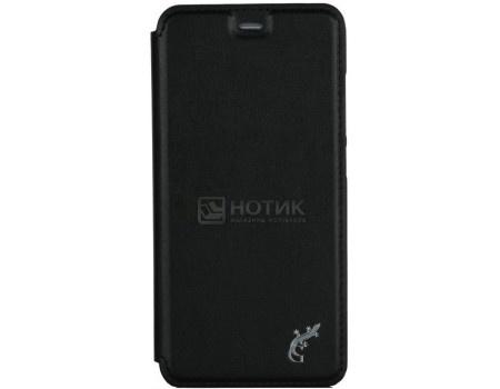 Фотография товара чехол-книжка G-Case Slim Premium для смартфона Xiaomi Mi 6, Искусственная кожа, Черный GG-806 (57032)